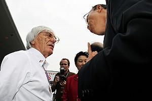 Formula 1 Ecclestone questions New York race for 2013