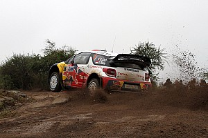 WRC Despite early spins, Loeb heads Citroen 1-2 in Rally Argentina first leg