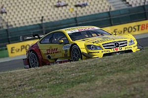 DTM Mercedes prepared for second race at Eurospeedway Lausitzring