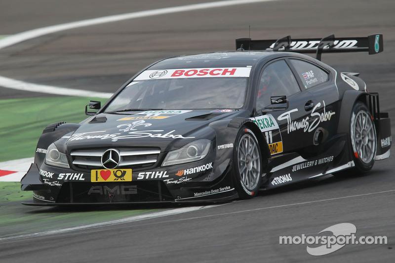 Mercedes Lausitzring qualifying report