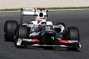 Formula 1 Sauber Spanish GP Friday report