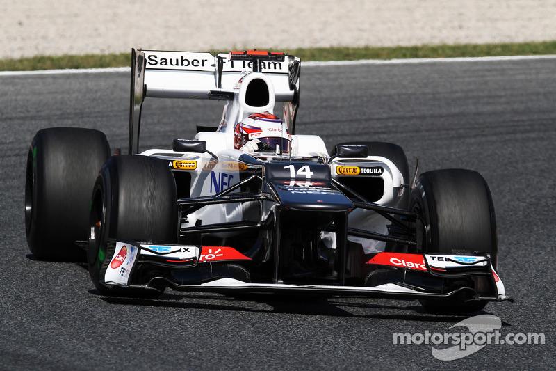 Sauber Spanish GP Friday report