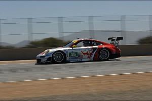 ALMS Porsche Laguna Seca qualifying report