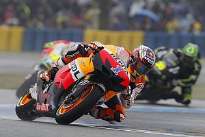 MotoGP Repsol Honda satisfied with French GP weather affected results