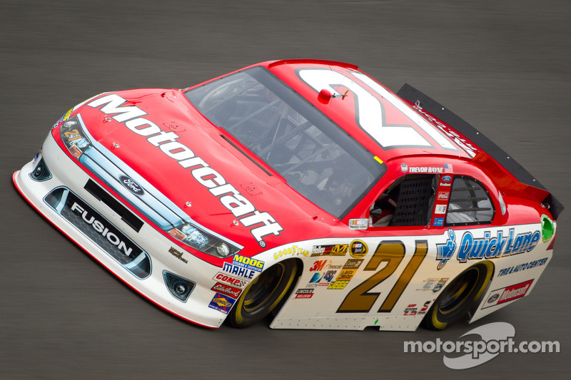 Wood Brothers experience another memorable qualifying day at Charlotte