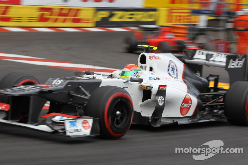 Sauber finds consolation after rough day at Monaco