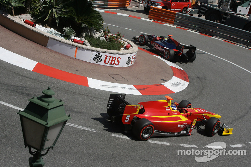 Racing Engineering's drivers are looking for a good result in the Monaco Feature Race