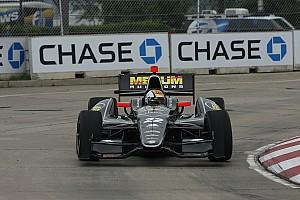IndyCar Servia scores top-five run in Belle Isle
