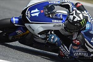 MotoGP Yamaha riders pace Aragon test