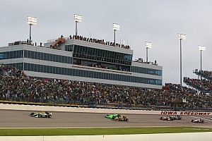 IndyCar Iowa starting grid to be set by three separate heat races