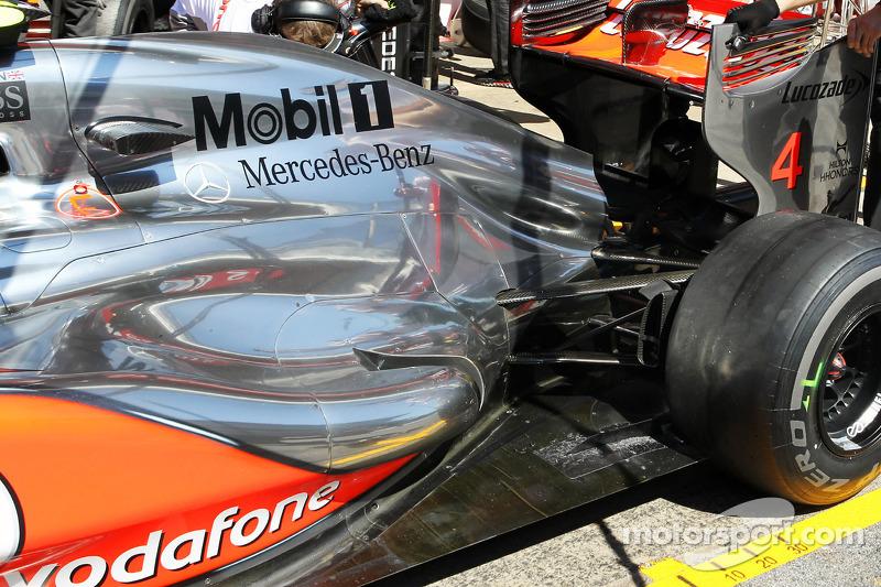 Report reveals McLaren tyre temperature trick