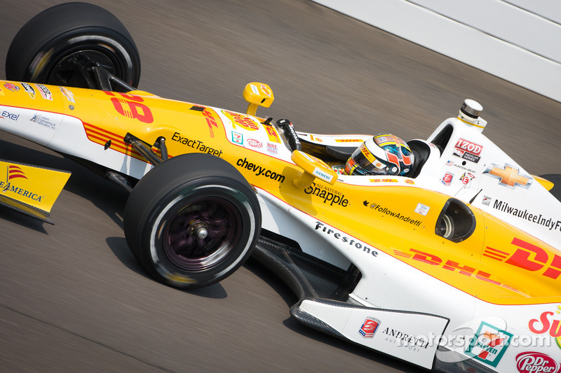 Andretti Autosport move up starting gird at Milwaukee
