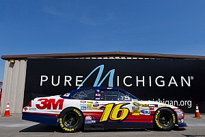NASCAR Cup Ambrose, Biffle head Ford contingent in qualifying at Michigan