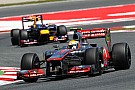 McLaren and Red Bull fastest in qualifying, race in 2012