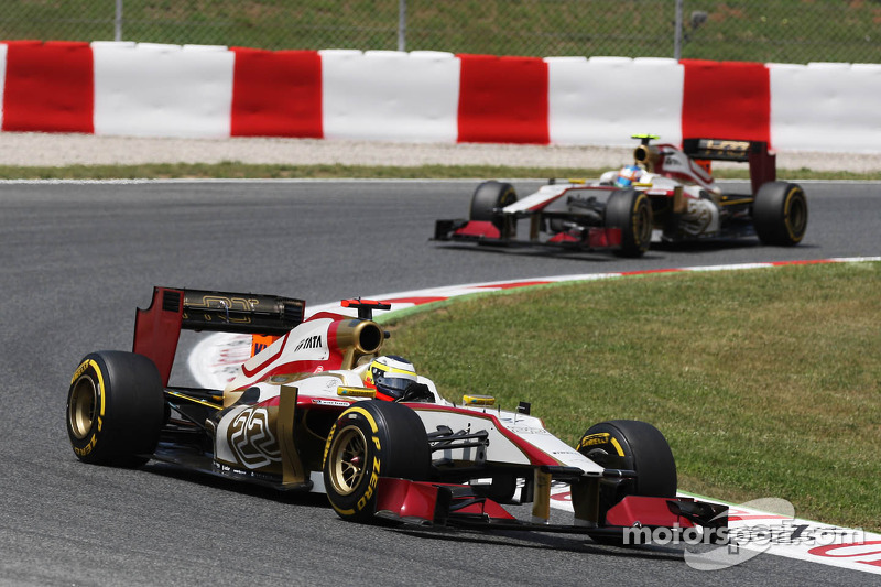 HRT fighting for Valencia points