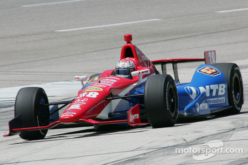 Graham Rahal wins first Iowa qualifying heat
