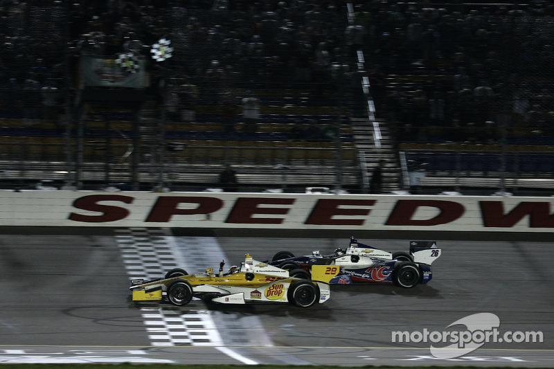 Andretti Autosport finishes 1-2 at Iowa
