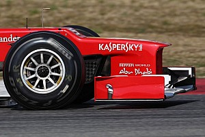 Formula 1 Rumor Whiting hints 'stepped noses' to go in 2013