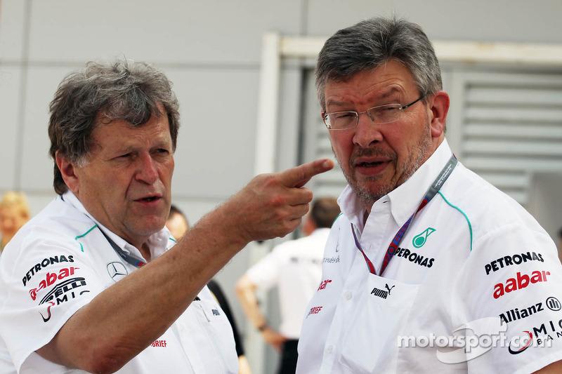 Haug plays down Vettel-to-Mercedes likelihood