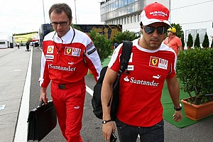 Formula 1 Breaking news Ferrari lets 2013 Massa contract 'option' expire