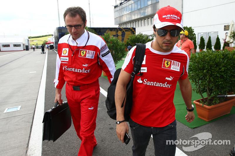 Ferrari lets 2013 Massa contract 'option' expire