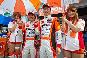 Super GT Qualifying report Eneos Sustina SC430 takes pole at Miyagi
