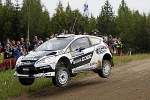 WRC Leg report Battling Ford duo, Jari-Matti Latvala & Miikka Anttila hold third and fourth in Finnish speedfest