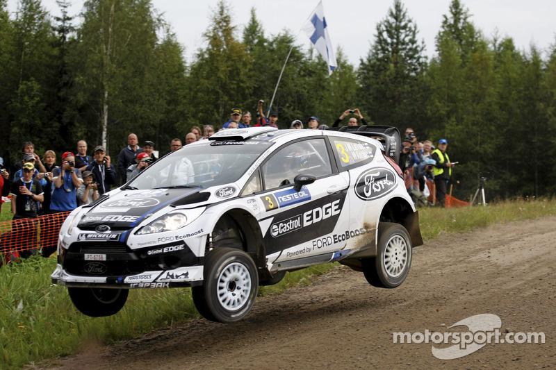 Battling Ford duo, Jari-Matti Latvala & Miikka Anttila hold third and fourth in Finnish speedfest
