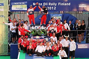 WRC Leg report Sebastien Loeb strikes thrice in Finland