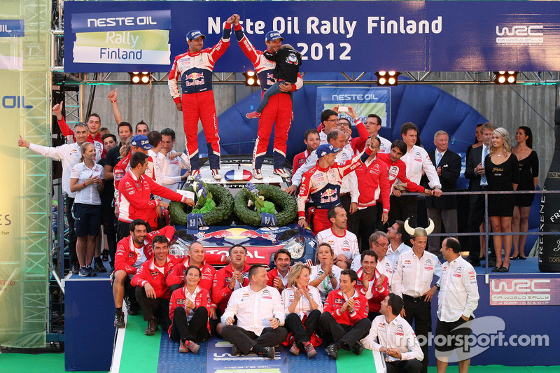 Sebastien Loeb strikes thrice in Finland