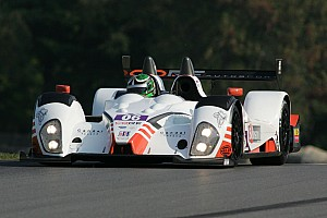 ALMS Race report CORE autosport nabs podium finish at Mid-Ohio