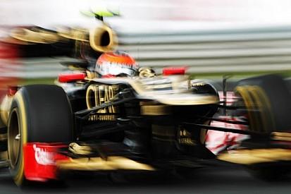 Usain Bolt vs. Lotus F1 car?