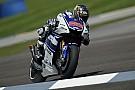 Lorenzo flies to Indianapolis front row