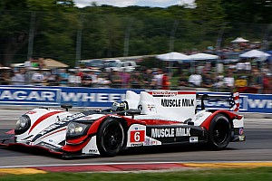 ALMS Race report Incredible comeback for Muscle Milk's Graf and Luhr at Road America