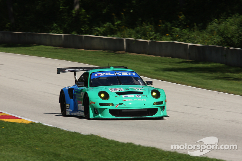 Strong race for Falken Tire ends early at Road America