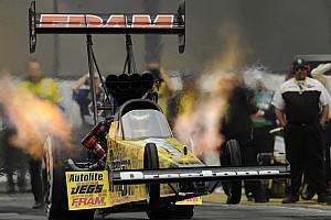 NHRA Race report Upset loss for Massey's Prestone/FRAM team at Brainerd