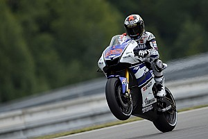 MotoGP Practice report Yamaha get back on track in Brno
