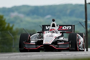 IndyCar Practice report Power and Briscoe pace Friday practice at Sonoma