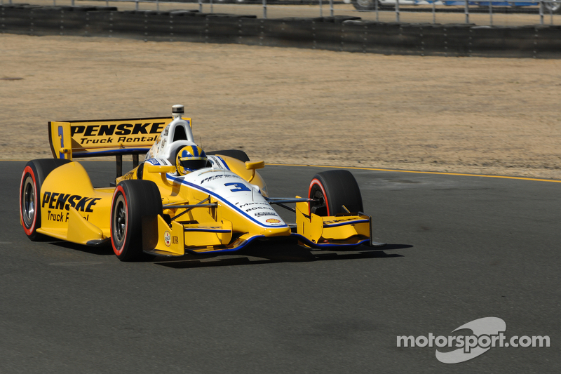 Team Penske sweeps the front row at Sonoma