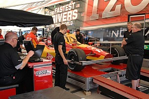 IndyCar Special feature Will Phillips gives reporter an insight of IndyCar tech inspection