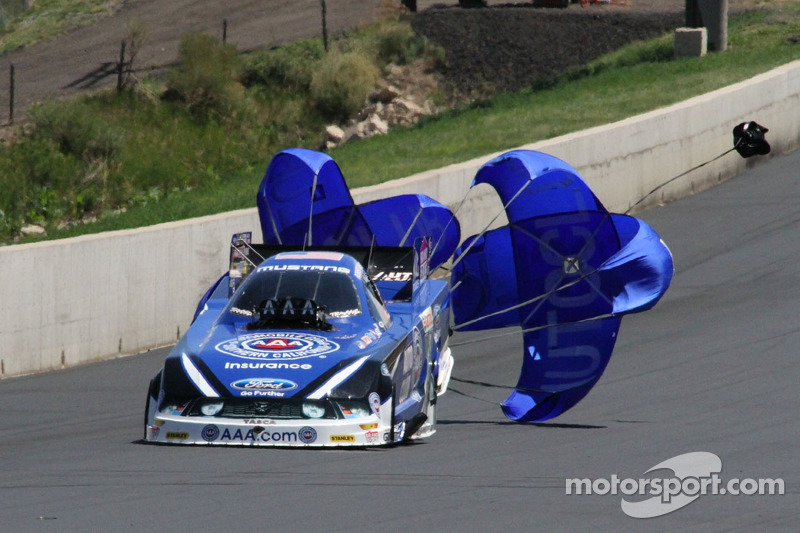 For John Force Racing good and bad comes with Indianapolis postponement