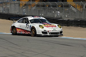 Grand-Am Qualifying report Porsche 911 GT3 Cup cars to Start 2nd, 3rd and 10th at Laguna Seca