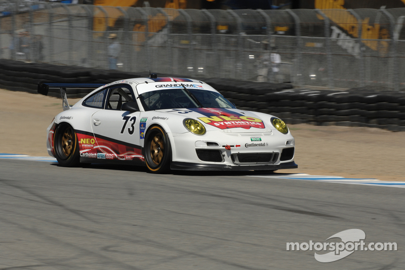 Porsche 911 GT3 Cup cars to Start 2nd, 3rd and 10th at Laguna Seca