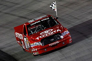 NASCAR Truck Preview Peters hopes history repeats itself at Iowa Speedway