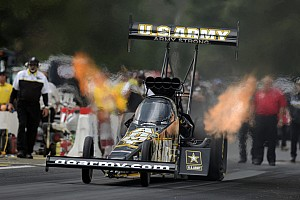 NHRA Qualifying report Massey, Beckman to start Charlotte eliminations in No. 2 positions