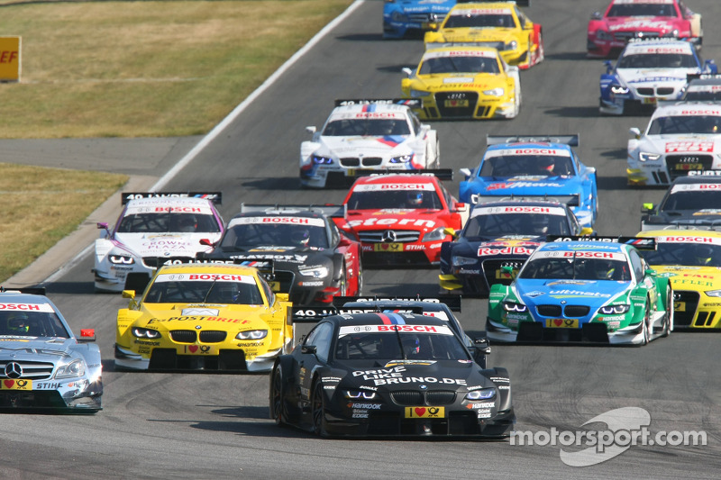 BMW team players reactions after the eighth DTM race of 2012 in Oschersleben