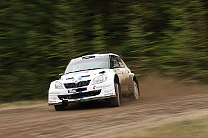 WRC Leg report Successful test run: Class win in Wales for Volkswagen