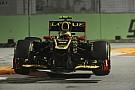 Saturday night in Singapore: Reasonable for Grosjean bad for Räikkönen
