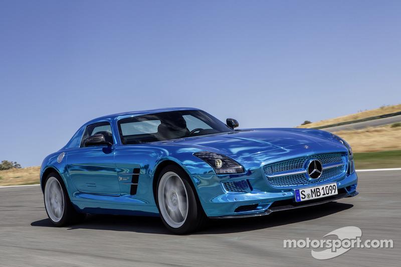 Mercedes-Benz unveils world's most powerful electric super sports car