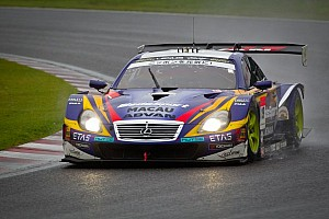 Super GT Qualifying report Couto hands WedsSport ADVAN team maiden pole at Autopolis circuit